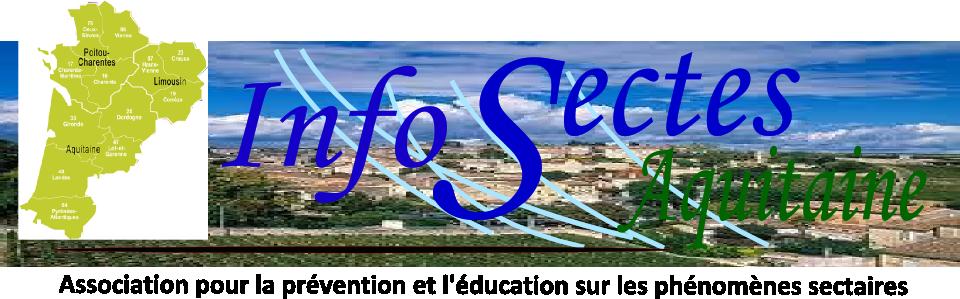 Infos Sectes Aquitaine